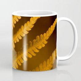 Fern Leaf in Fall Color Autumn Scene #decor #society6 #buyart Coffee Mug