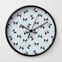 Awww Puppies Wall Clock