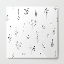 Wildflowers BIG Metal Print