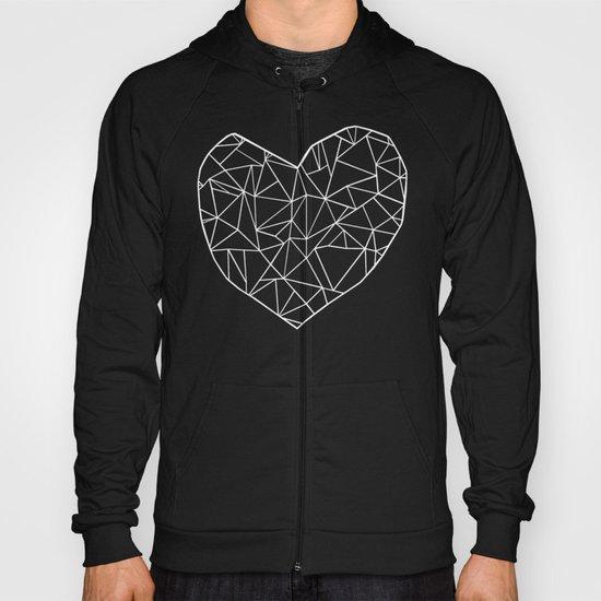 Abstract Heart   Hoody