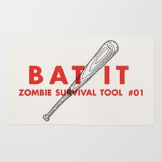 Bat it - Zombie Survival Tools Rug