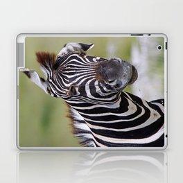 Shaking Zebra, Africa wildlife Laptop & iPad Skin