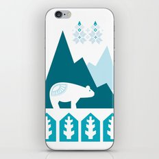 Heart the Polar Bear iPhone & iPod Skin