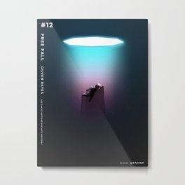 Free fall Metal Print