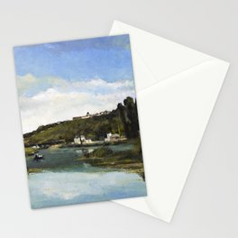 The Marne At Chennevieres - Digital Remastered Edition Stationery Cards