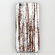 Birch Winter Sepia iPhone & iPod Skin