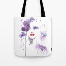 Red Eyes Red Lips two Tote Bag