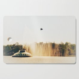 Flying over The Lake Cutting Board