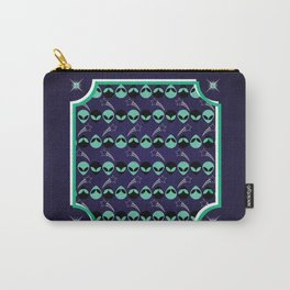 Aliens Exist (Purple) Carry-All Pouch
