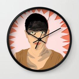 Furuisa (Red) | Bad Ass Women Series Wall Clock