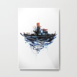 Tugboat Metal Print