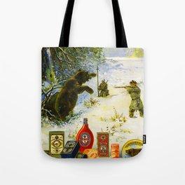 Vintage Russian Gunpowder Advertisement Tote Bag