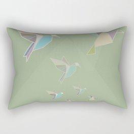 paper birds Rectangular Pillow