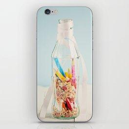 Botella de colores iPhone Skin