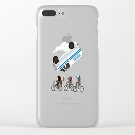 stranger thing Clear iPhone Case