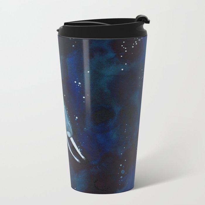 Dive in Metal Travel Mug