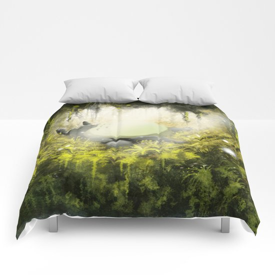 Totoro's Dream Comforters