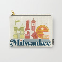 MKE ~ Milwaukee, WI Carry-All Pouch