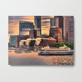 Massachusetts at Sunset Metal Print