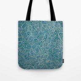 teal test Tote Bag