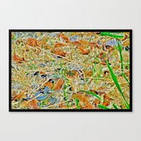 darwin Canvas Prints featuring Darwin-Bug by Anthony