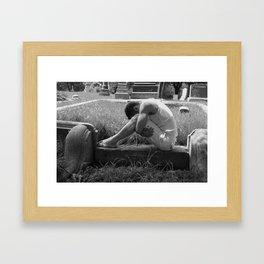 Cemetary1 Framed Art Print