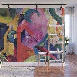 Franz Marc - Komposition III Wall Mural