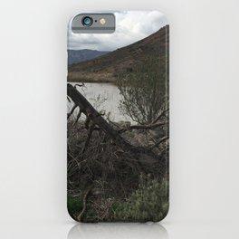 Lake Hodges in Escondido California iPhone Case