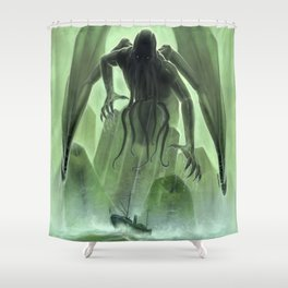 The Call of Cthulhu Shower Curtain