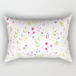 Berry Bouquet Rectangular Pillow
