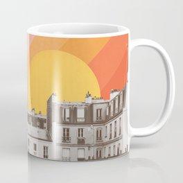 Rainbow Sky Above Paris Coffee Mug