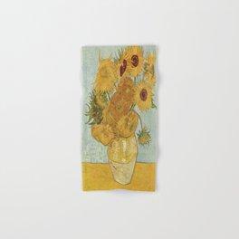 Vincent van Gogh's Sunflowers Hand & Bath Towel