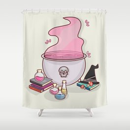 I put a spell on you Shower Curtain