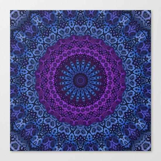 Twilight Mandala Canvas Print