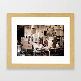Shuk Story-Part 3 Framed Art Print