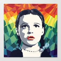 dorothy Canvas Prints featuring Dorothy by Stephanie Keir