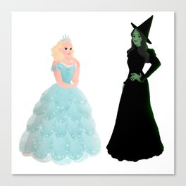 Elphaba and Glinda Canvas Print