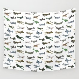 Various WW2 Planes Wall Tapestry