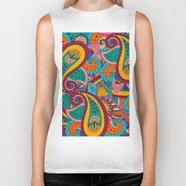 African Style No22 Biker Tank