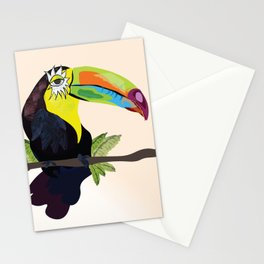 Funky Toucan Stationery Cards