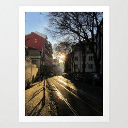 Lisboa 2: Alfama Art Print