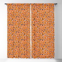 Candy Corn Pattern Blackout Curtain