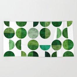 Minimalist pattern I Beach Towel