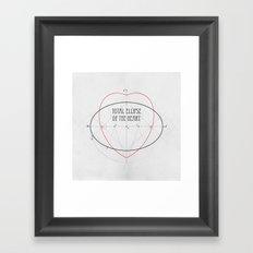 Total Ellipse of the Heart Framed Art Print