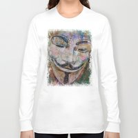 anonymous Long Sleeve T-shirts featuring Anonymous by Michael Creese