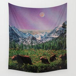 Sweet Moon Wall Tapestry