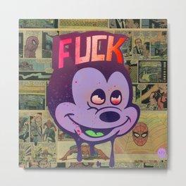 Mick F!ck Metal Print