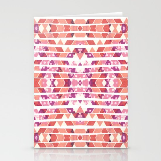Tribal Explosion Stationery Cards