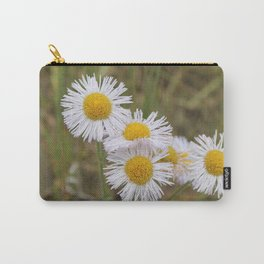Wild Aster Carry-All Pouch