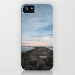 The Jetty at Sunset - Landscape iPhone Case